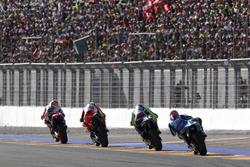 Марк Маркес, Repsol Honda Team, Андреа Янноне, Ducati Team, Валентино Росси, Yamaha Factory Racing