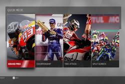 MotoGP 17: Hauptmenü