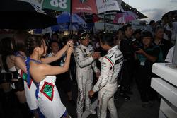 GT300 second place #88 JLOC Lamborghini GT3: Manabu Orido, Kazuki Hiramine