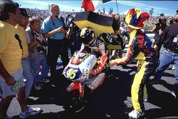 Valentino Rossi, Aprilia met fans