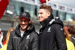 Gary Paffett, Mercedes-AMG Team HWA, Mercedes-AMG C63 DTM et Edoardo Mortara, Mercedes-AMG Team HWA, Mercedes-AMG C63 DTM