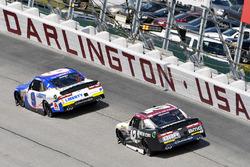 William Byron, JR Motorsports Chevrolet, Tyler Reddick, Chip Ganassi Racing Chevrolet