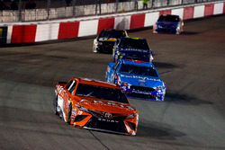 Daniel Suárez, Joe Gibbs Racing Toyota, Aric Almirola, Richard Petty Motorsports Ford