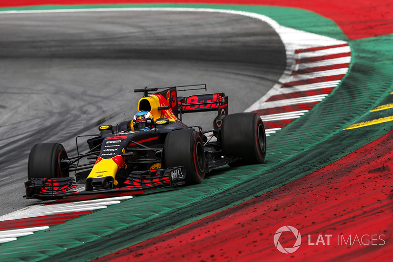 Giro 71 - Daniel Ricciardo, Red Bull Racing RB13