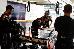 McLaren werkt aan de wagen van Fernando Alonso, McLaren MCL32