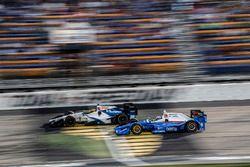 Esteban Gutierrez, Dale Coyne Racing Honda Scott Dixon, Chip Ganassi Racing Honda