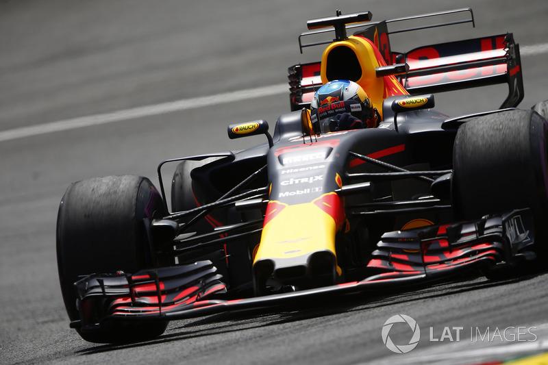 Bandiera a scacchi - Daniel Ricciardo, Red Bull Racing RB13