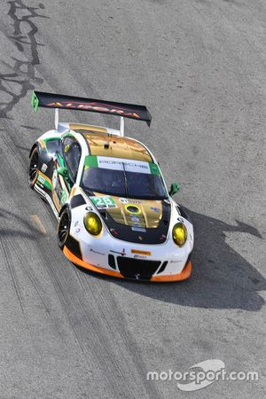#28 Alegra Motorsports, Porsche 911 GT3 R: Daniel Morad, Michael Christensen