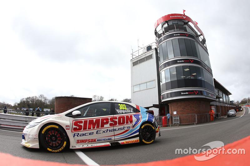 Matt Simpson, Simpson Racing Honda Civic Type R