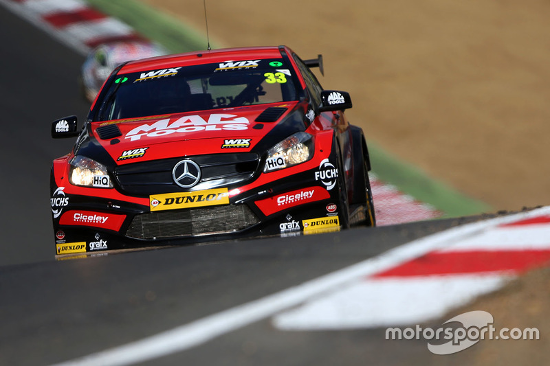 Adam Morgan, Ciceley Motorsport with Mac Tools, Mercedes Benz A-Class