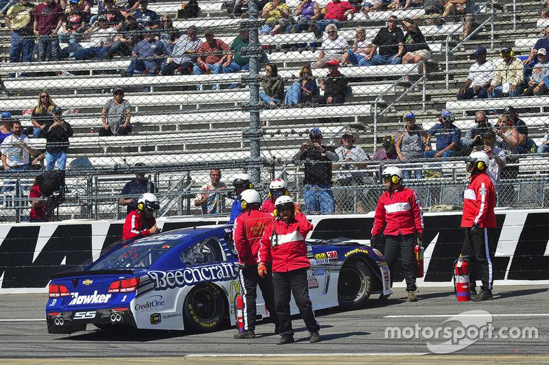 Crash: Jamie McMurray, Chip Ganassi Racing, Chevrolet