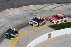 Joey Logano, Team Penske Ford, Chase Elliott, Hendrick Motorsports Chevrolet, Ryan Blaney, Wood Brot