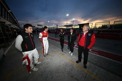 Filip Salaquarda, Clemens Schmidt, ISR; Markus Winkelhock, Dries Vanthoor, Belgian Audi Club Team WR