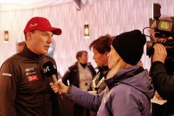 Jari-Matti Latvala, Toyota Racing met de media