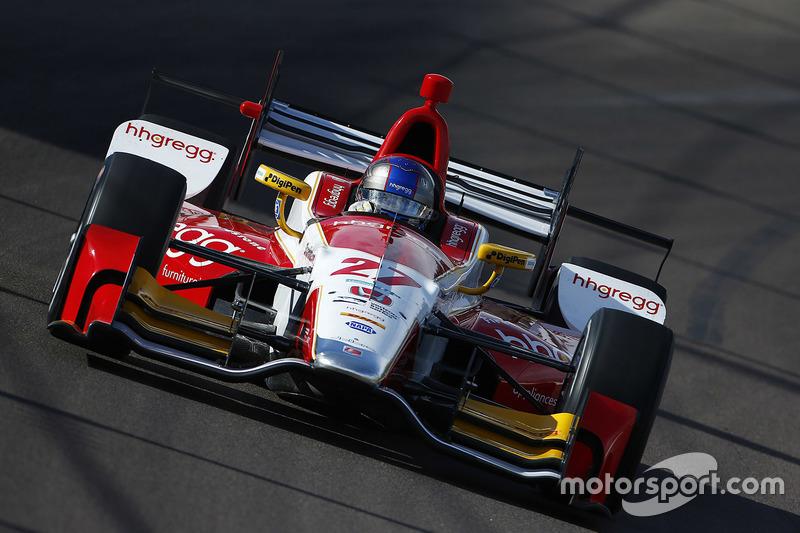 #27: Marco Andretti, Andretti Autosport, Honda
