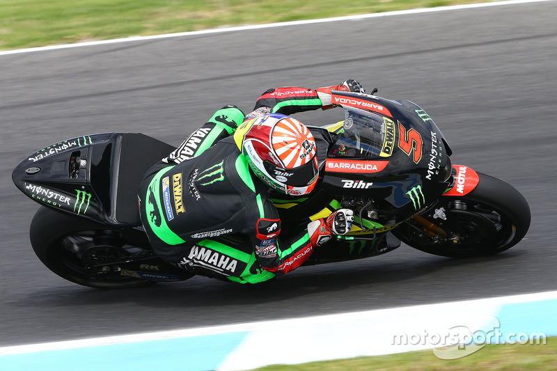 15º Johann Zarco (Monster Yamaha Tech3) 1:29.670, a 1.121s