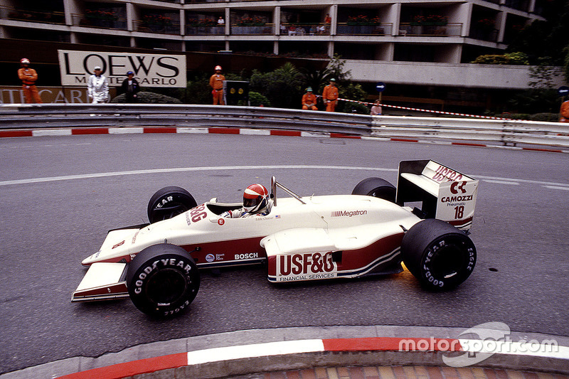 #18 : Eddie Cheever, Arrows A10, Megatron
