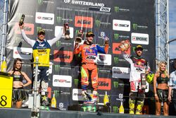 Podio: Gautier Paulin, Jeffrey Herlings, Tony Cairoli