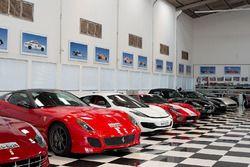 Nelson Piquet's garage tour