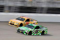 Kyle Busch, Joe Gibbs Racing Toyota, Ryan Newman, Richard Childress Racing Chevrolet, Richard Childress Racing, Chevrolet SS