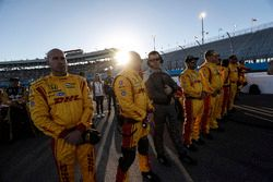 Crew für Ryan Hunter-Reay, Andretti Autosport, Honda