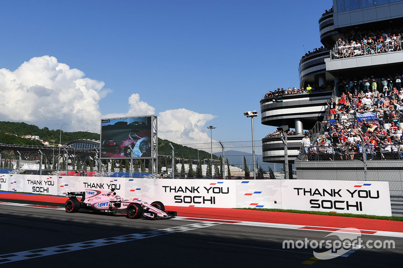 Sergio Perez, Sahara Force India VJM10