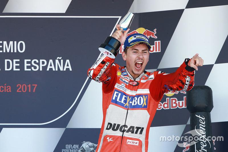Podio: 3º GP de España 2017