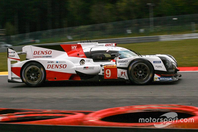5. LMP1: #9 Toyota Gazoo Racing, Toyota TS050 Hybrid