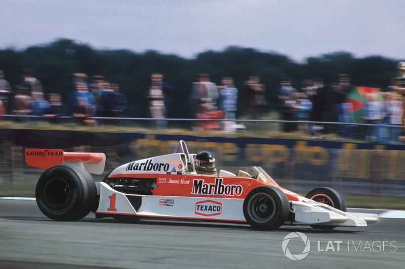 1977年:ジェームス・ハント(マクラーレン)