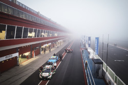 Fog covers the circuit