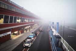 Mist over het circuit
