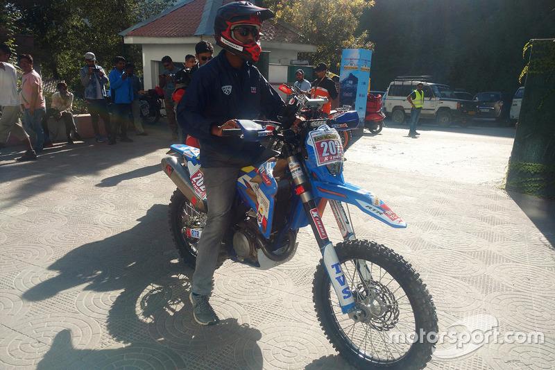 R Nataraj, TVS RTR 450