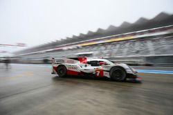 #7 Toyota Gazoo Racing Toyota TS050-Hybrid: Mike Conway, Kamui Kobayashi, Jose Maria Lopez