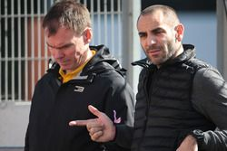 (L to R): Alan Permane, Renault Sport F1 Team Trackside Operations Director with Cyril Abiteboul, Renault Sport F1 Managing Director