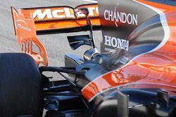 McLaren MCL32: седло обезьянки