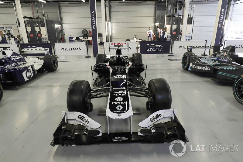 Williams FW34 2012 року команди Renault Sport F1