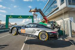#88 Proton Competition Porsche 911 RSR: Стефан Лемре, Клаус Бахлер, Халед Аль-Кубайсі