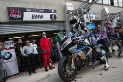 #9 BMW: Camille Hedelin, Kenny Foray, Lukas Trautmann, Matthieu Lussiana