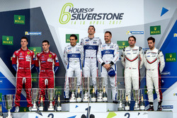 Podium GTE-Pro: Race winners #67 Ford Chip Ganassi Racing Ford GT: Andy Priaulx, Harry Tincknell, Pi