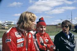James Hunt, Teddy Mayer and Bernie Ecclestone