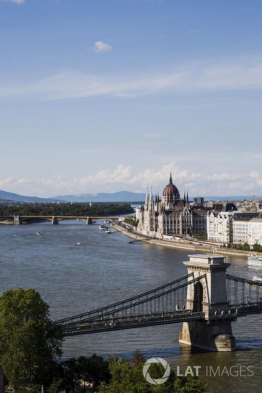 Kettenbrücke in Budapest