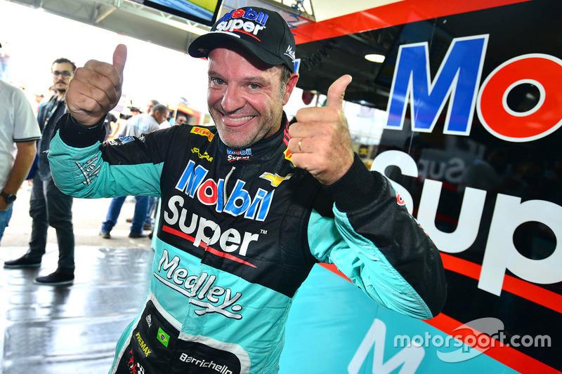 2014: Rubens Barrichello comemora Milhão em Goiânia