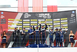 P3 Podium: Race winners #9 AT Racing, Ligier JS P3 - Nissan: Alexander Talkanitsa Sr., Alexander Tal