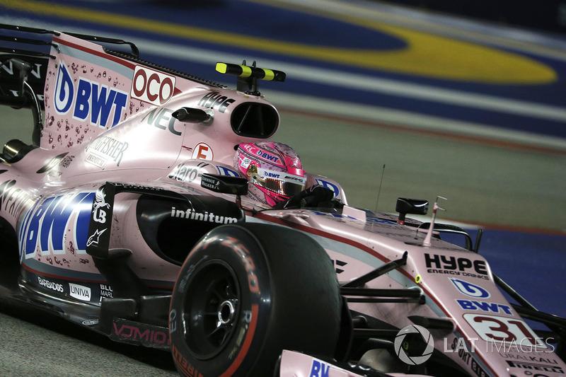 14. Esteban Ocon, Sahara Force India VJM10