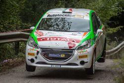 Luca Bottarelli, Manuel Fendi, New Turbomark Peugeot 208 R2B