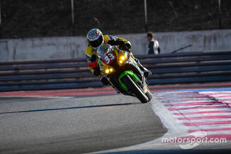 12. #33 Team 33 Accessoires - Louit Moto, Kawasaki: Corentin Perolari, Chris Leesch, Gabriel Pons