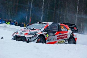 Marcus Grönholm, Timo Rautiainen, Toyota Yaris WRC