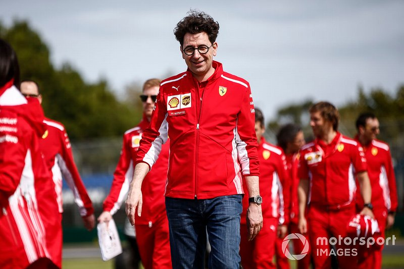 Matteo Binotto, Ferrari
