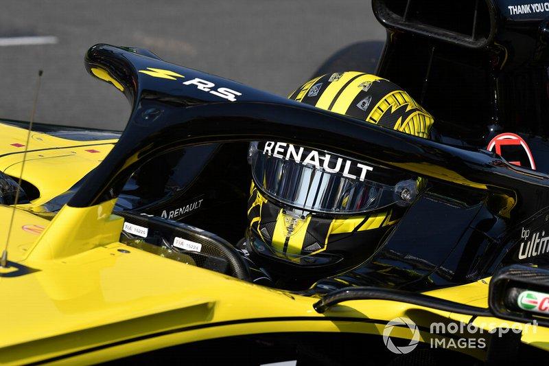 Шлем Нико Хюлькенберга, Renault F1 Team