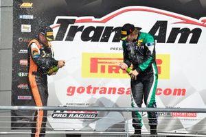 TA4 podium finishers Shane Lewis and Warren Dexter